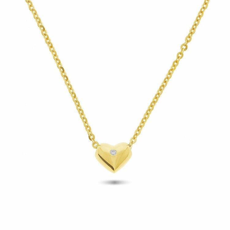 mẫu dây chuyền vàng cho bé gái được ưa chuộng năm 2020