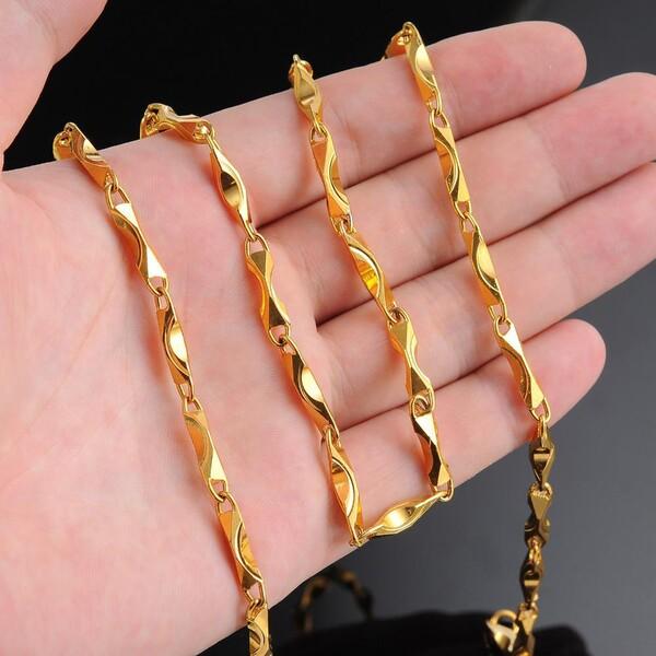 Giá dây chuyền nam vàng 18k bao nhiêu?