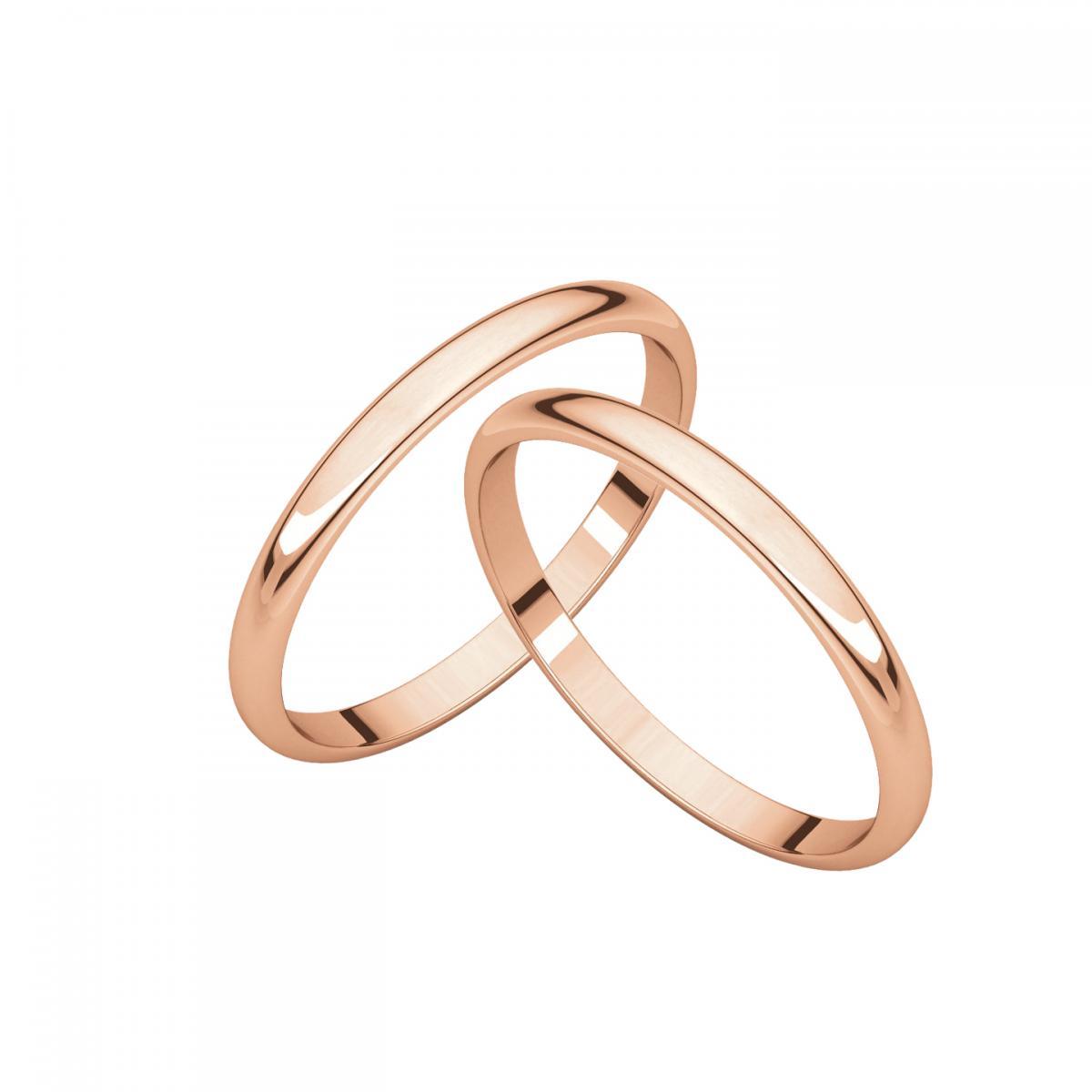 3 mẫu nhẫn cưới vàng 18k trơn được ưa chuộng hiện nay