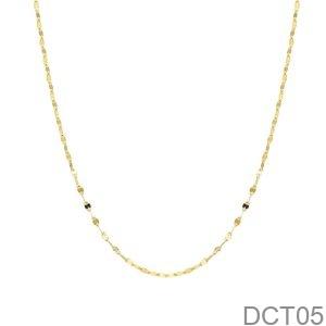 Dây Chuyền Vàng Vàng 18K - DCT05