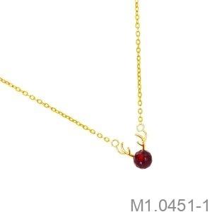 Dây Cổ Vàng Vàng 18K - M1.0451-1