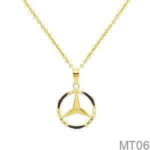 Mặt Nữ Vàng Vàng 18K - MT06