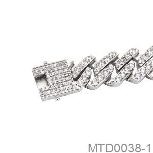 Dây Chuyền Vàng Trắng 10K - MTD0038-1