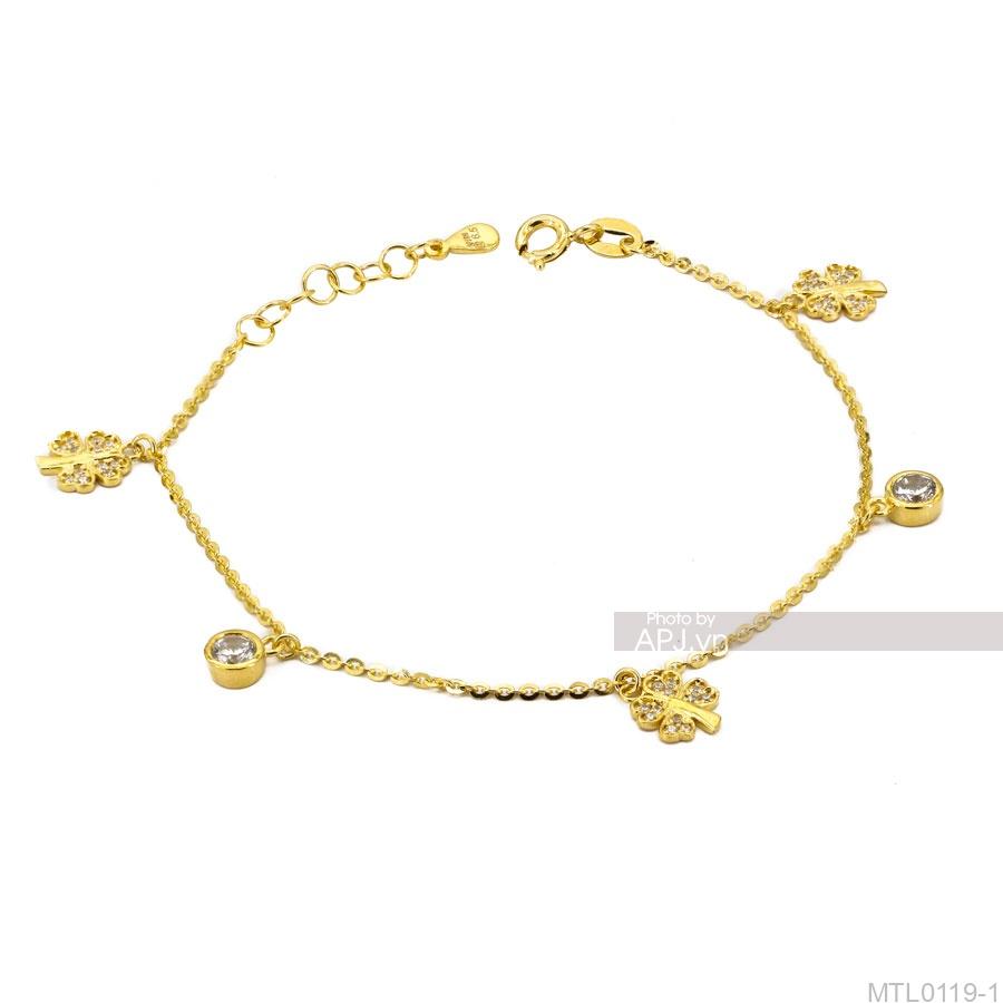 Lắc Tay Vàng Vàng 18K - MTL0119-1