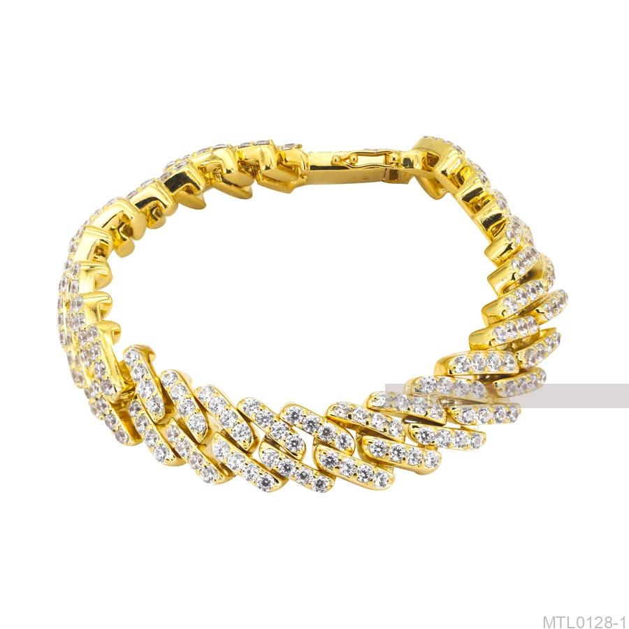Lắc Nam Vàng Vàng 10K - MTL0128-1