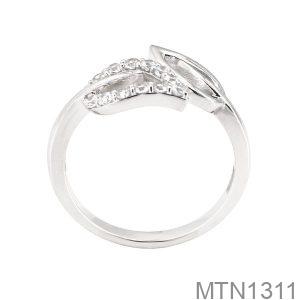 Nhẫn Nữ Vàng Trắng 18K -  MTN1311