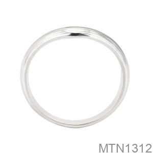Nhẫn Nữ Vàng Trắng 18K- MTN1312