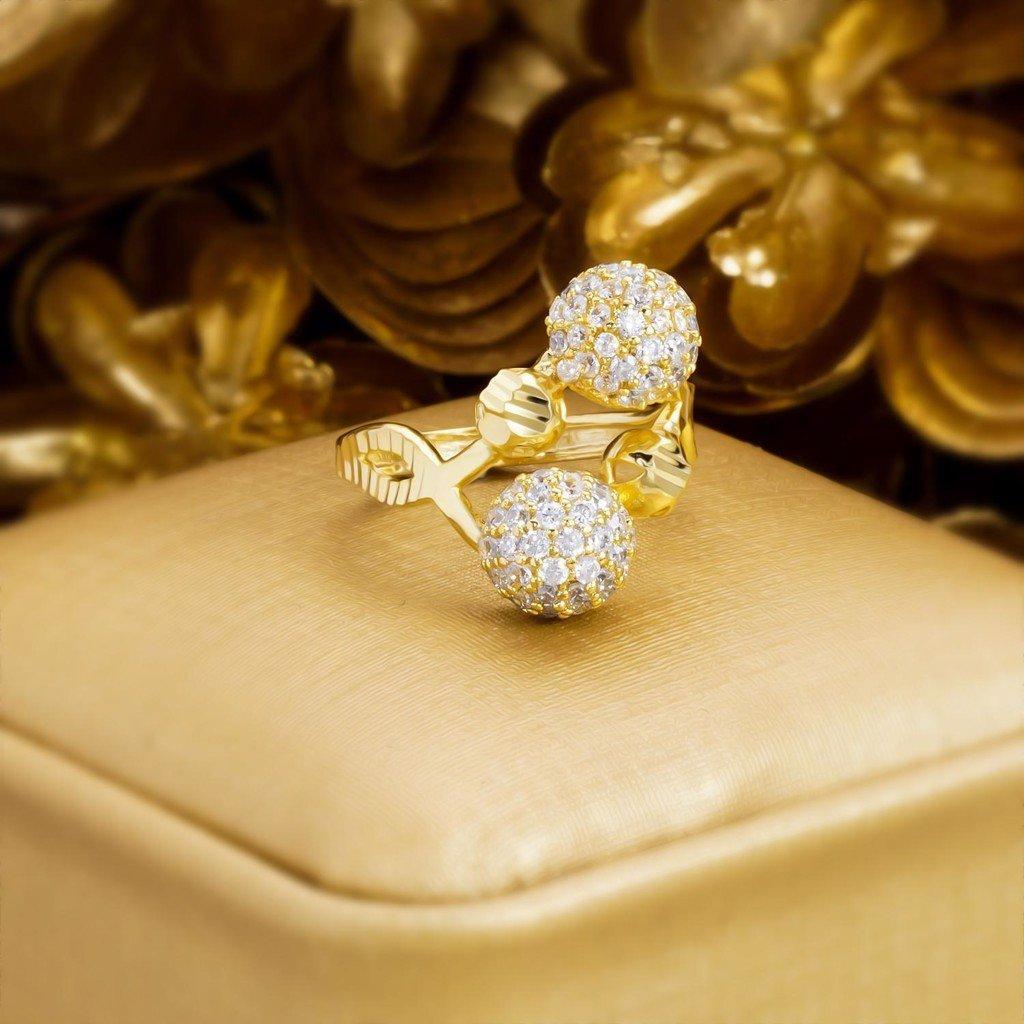 nhẫn nữ vàng nữ độc đáo