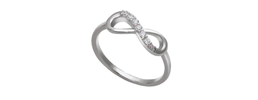 Nhẫn nữ vàng vô cực