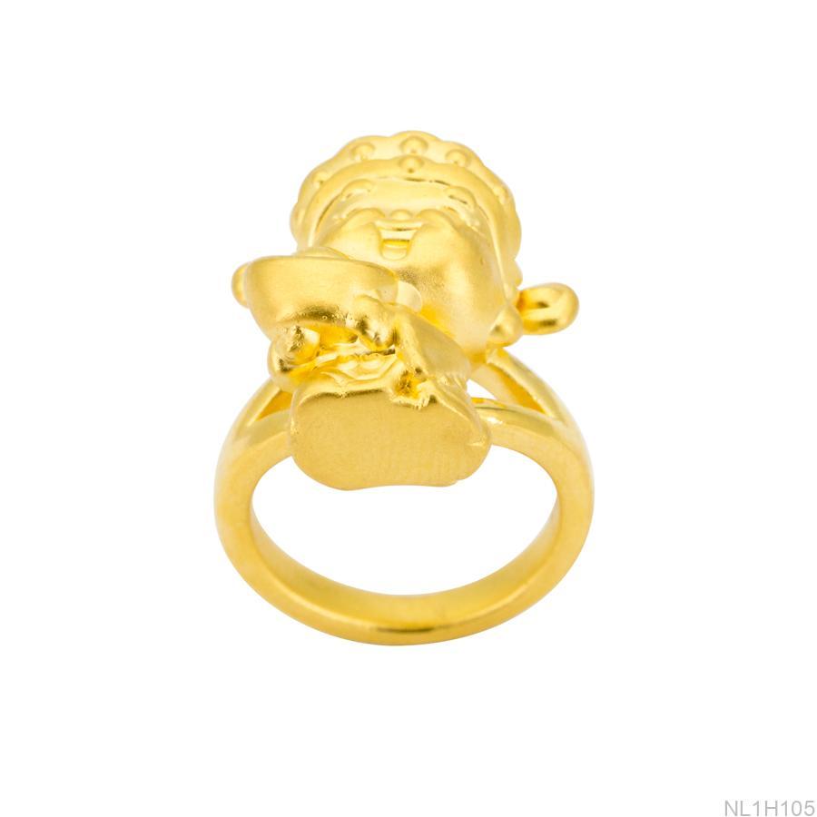 nhẫn thần tài vàng