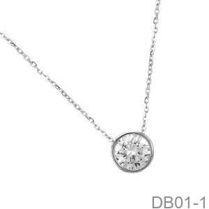 Mặt Dây Chuyền Vàng Trắng 10K - DB01-1