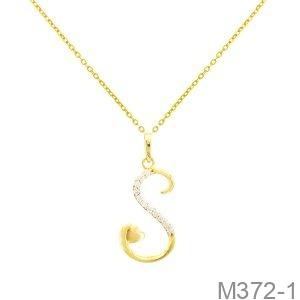 Mặt Nữ Vàng Vàng 18K - M372-1