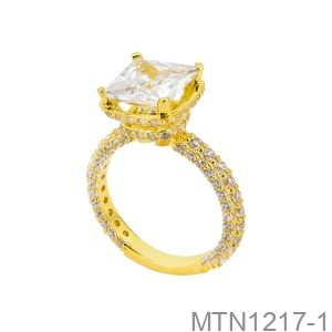 Nhẫn Nữ Vàng Vàng 18K - MTN1217-1