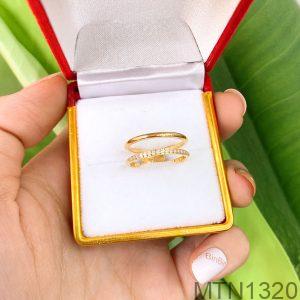 Nhẫn Nữ Vàng Vàng 18K - MTN1320