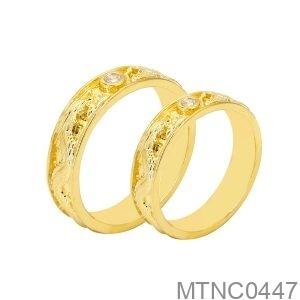 Nhẫn Cưới Rồng Phụng Vàng Vàng 18K - MTNC0447