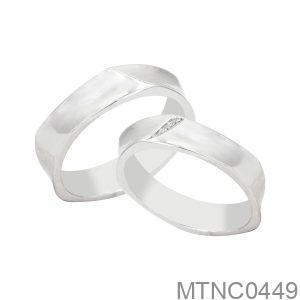 Nhẫn Bạc Chung Đôi - MTNC0449