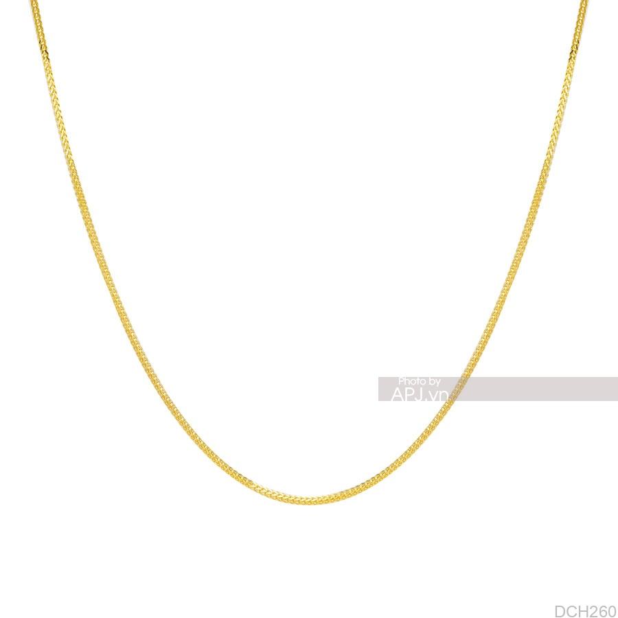 Dây Chuyền Vàng Vàng 18K - DCH260