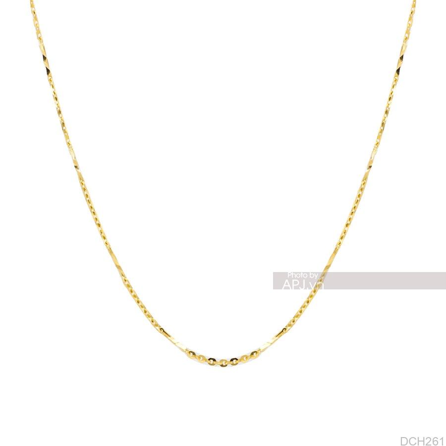 Dây Chuyền Vàng Vàng 18K - DCH261