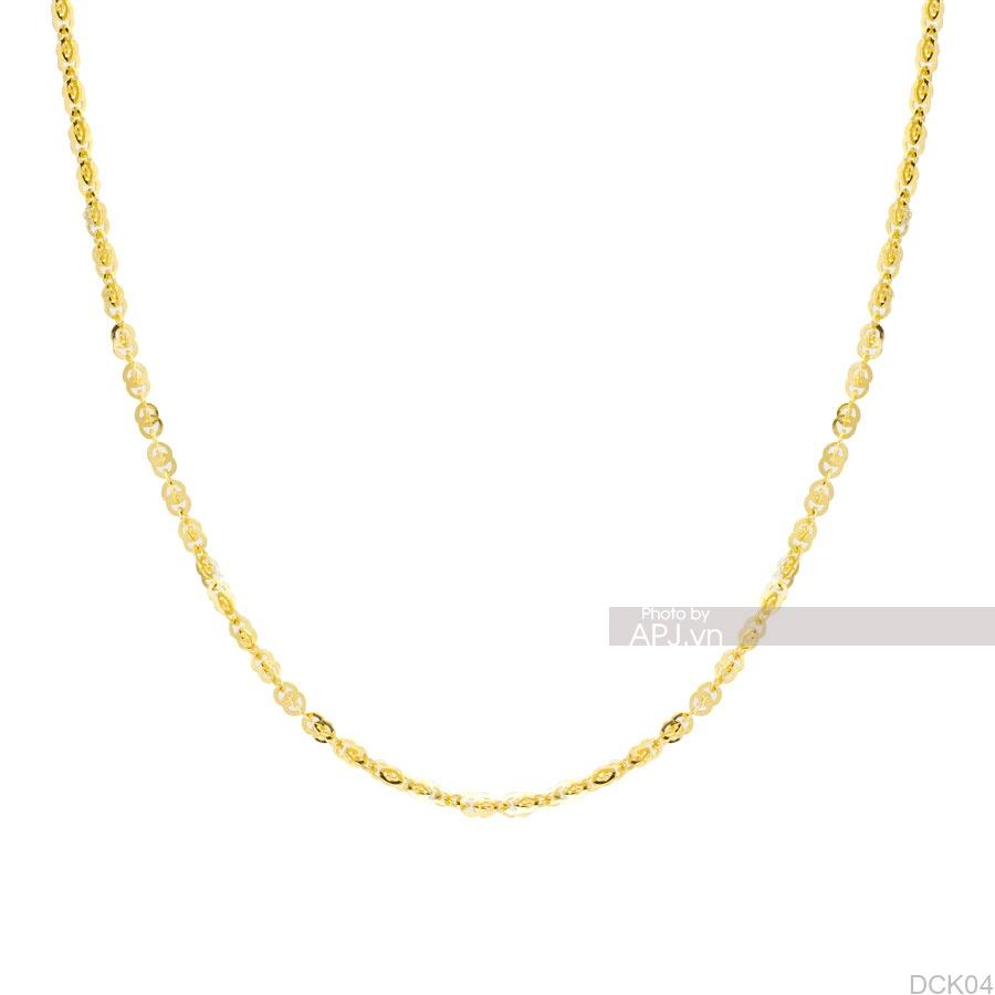 Dây Chuyền Vàng Vàng 18K - DCK04