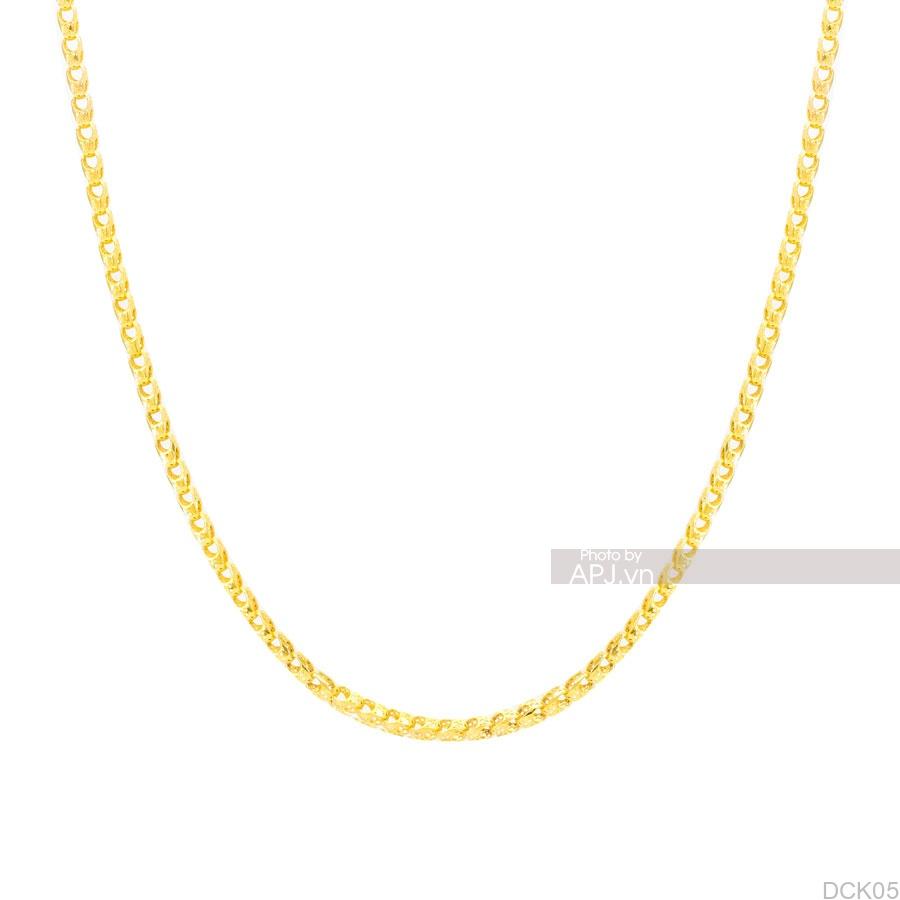 Dây Chuyền Vàng Vàng 18K - DCK05