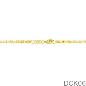 Dây Chuyền Vàng Vàng 18K - DCK06