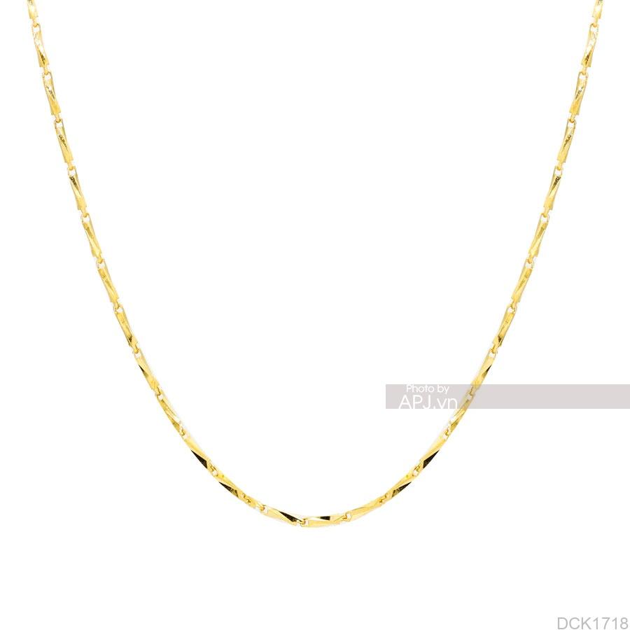Dây Chuyền Vàng Vàng 14K - DCK1718