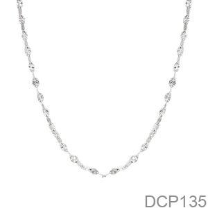 Dây Chuyền Vàng Trắng 10K - DCP135