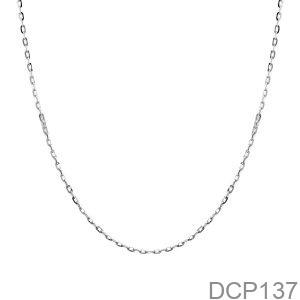 Dây Chuyền Vàng Trắng 10K - DCP137