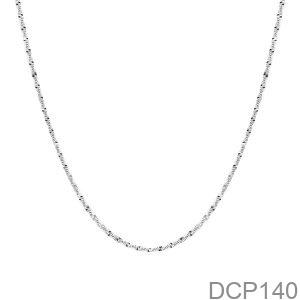 Dây Chuyền Vàng Trắng 10K - DCP140
