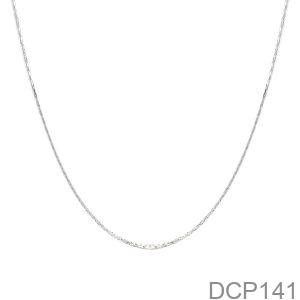 Dây Chuyền Vàng Trắng 10K - DCP141