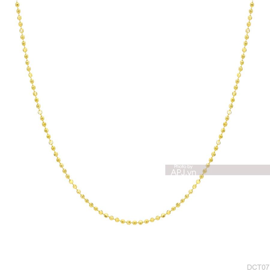 Dây Chuyền Vàng Vàng 18K - DCT07