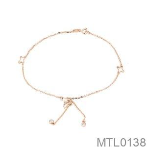 Lắc Tay Vàng Hồng 18K - MTL0138