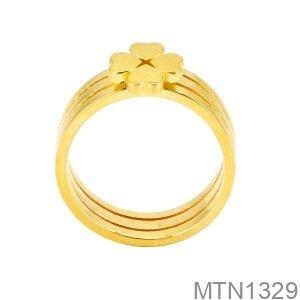 Nhẫn Nữ Vàng Vàng 18K - MTN1329