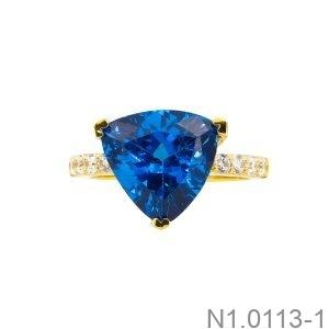 Nhẫn Nữ Vàng Vàng 18K - N1.0113-1
