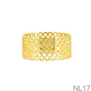 Nhẫn Nữ Vàng Vàng 18K - NL17