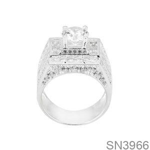 Nhẫn Nam Bạc - SN3966