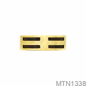 Nhẫn Nam Lông Voi Vàng Vàng 10K - MTN1338