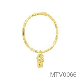 Vòng Tay Trẻ Em Trâu Vàng Vàng 18K  - MTV0066