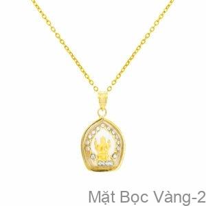 Mặt Phật Bọc Vàng 10K - Mặt Bọc Vàng-2