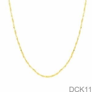 Dây Chuyền Vàng Vàng 18K - DCK11