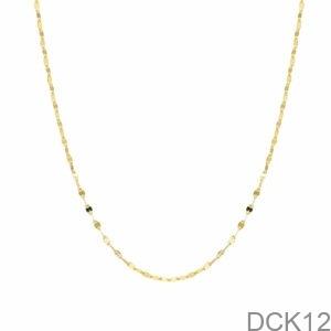 Dây Chuyền Vàng Vàng 18K - DCK12