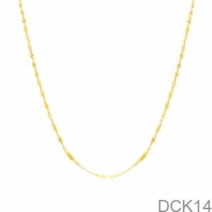 Dây Chuyền Vàng Vàng 18K - DCK14