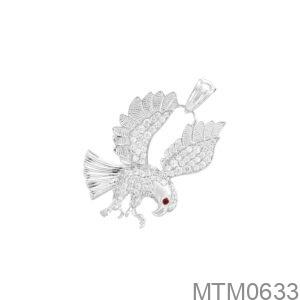 Mặt Nam Đại Bàng Vàng Trắng 10K - MTM0633