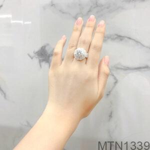Nhẫn Nữ Bạc - MTN1339
