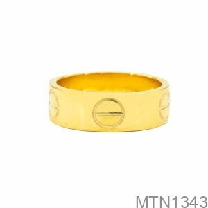 Nhẫn Nam Cartier Vàng Vàng 10k - MTN1343