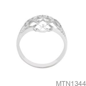 Nhẫn Nữ Vàng Trắng 10K - MTN1344