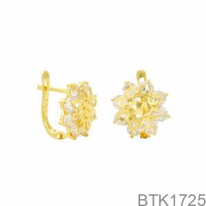 Bông Tai Vàng Vàng 18K - BTK1725