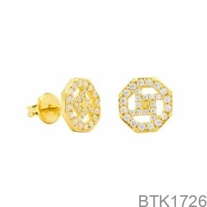 Bông Tai Vàng Vàng 18K - BTK1726