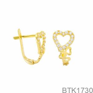 Bông Tai Vàng Vàng 18K - BTK1730