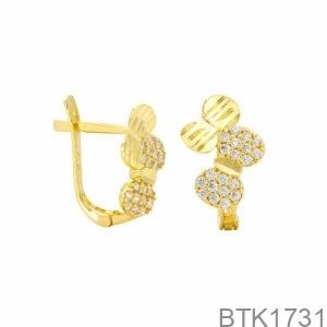 Bông Tai Vàng Vàng 18K - BTK1731